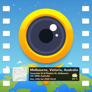 GPS video camera App logo